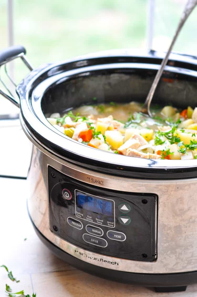 Healthy Stew Recipes Slow Cooker  Healthy Slow Cooker Chicken Stew The Seasoned Mom