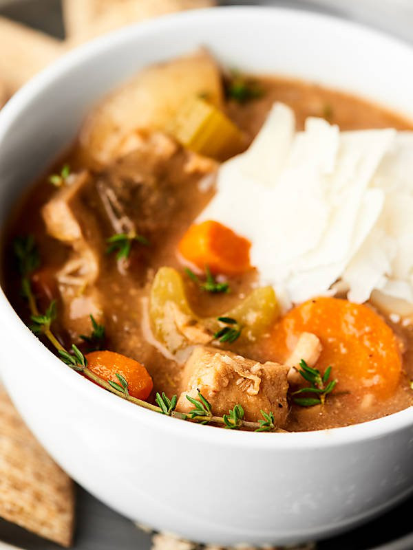 Healthy Stew Recipes Slow Cooker  Healthy Turkey Stew Recipe Made in Slow Cooker