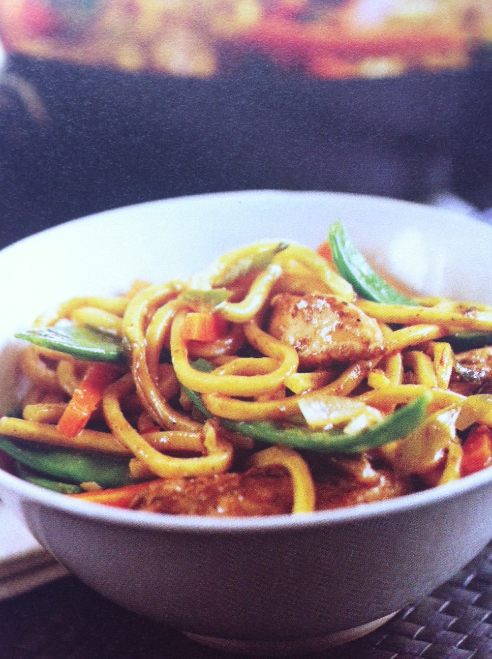 Healthy Stir Fry Noodles  Dream In Colour Healthy Chicken Stir fry With Noodles