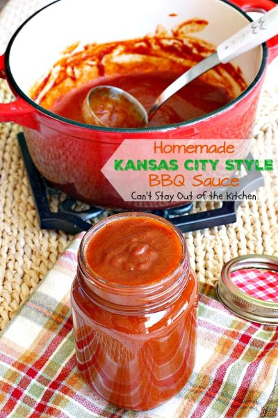 Healthy Store Bought Bbq Sauce  Homemade Kansas City Style BBQ Sauce Can t Stay Out of