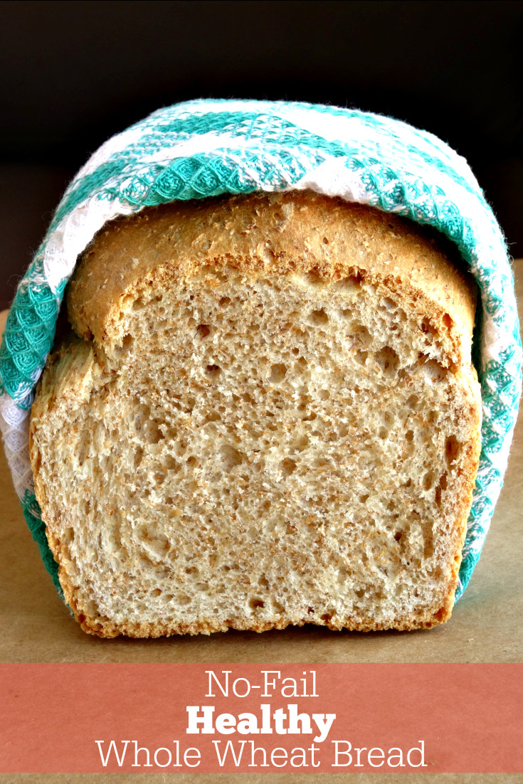 Healthy Store Bought Bread  No Fail Healthy Whole Wheat Bread Recipe With this simple