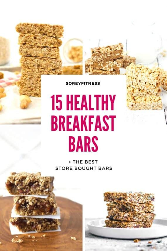 Healthy Store Bought Breakfast  15 Breakfast Bars Healthy Recipes & Brands [Plus What to