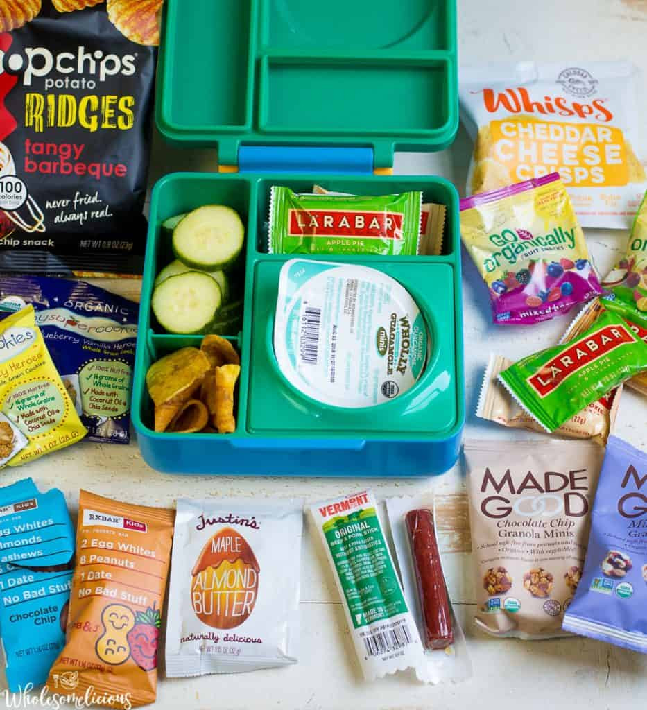 Healthy Store Bought Snacks For Kids  Healthy Store Bought Snacks For Kids Wholesomelicious