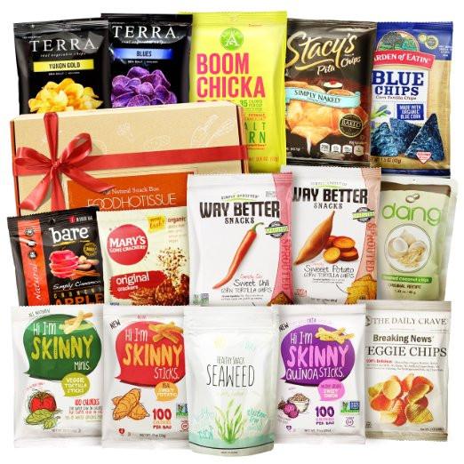 Healthy Store Bought Vegan Snacks  Vegan Snacks Healthy Gift Box Assortment • Clattr