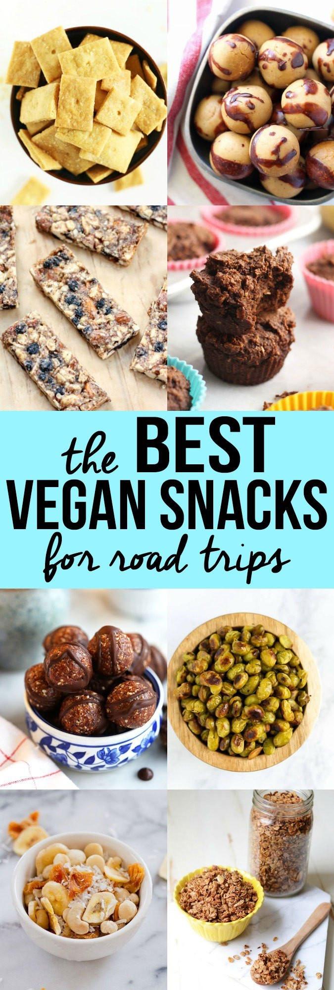 Healthy Store Bought Vegan Snacks  The Best Vegan Snacks for Road Trips