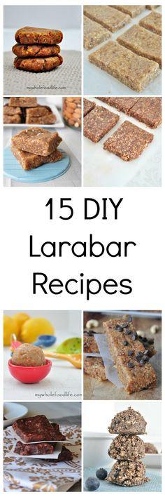 Healthy Store Bought Vegan Snacks  15 DIY Larabar recipes Say goodbye to store bought