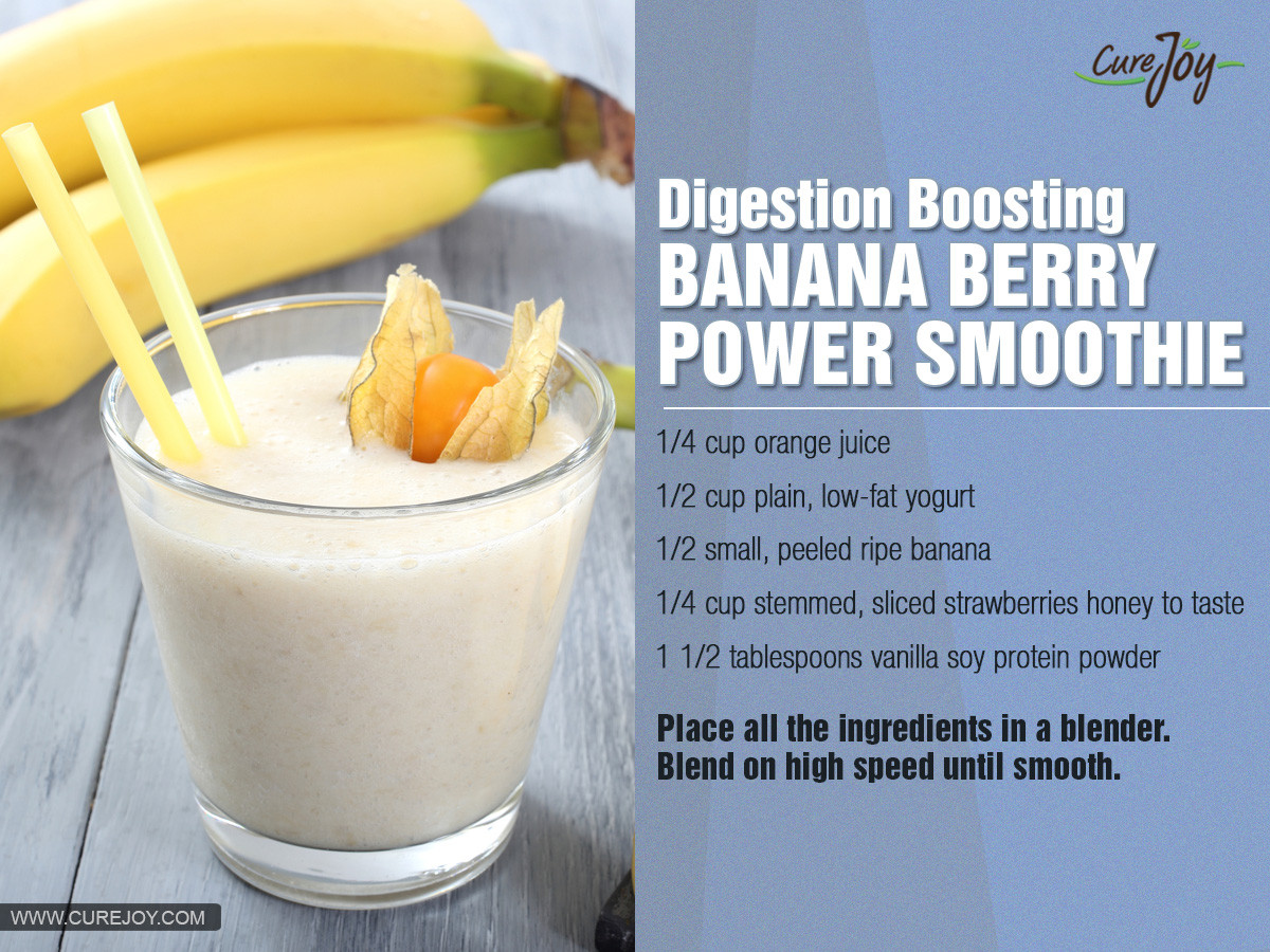 Healthy Strawberry Banana Smoothie Recipes For Weight Loss  healthy banana smoothie recipes for weight loss