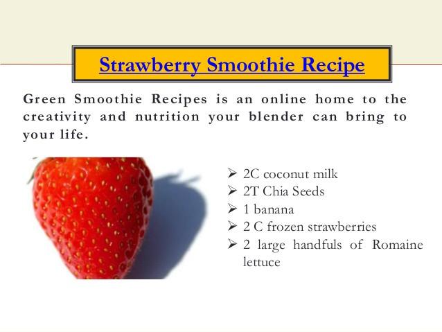 Healthy Strawberry Banana Smoothie Recipes For Weight Loss  Banana Strawberry Smoothie Weight Loss pletegala