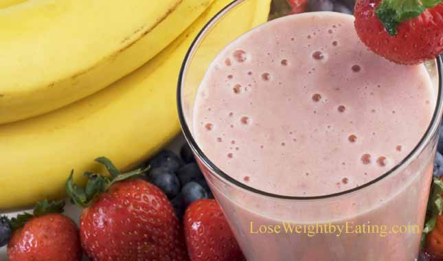 Healthy Strawberry Banana Smoothie Recipes For Weight Loss  Breakfast Smoothies 10 Healthy Recipes for Weight Loss