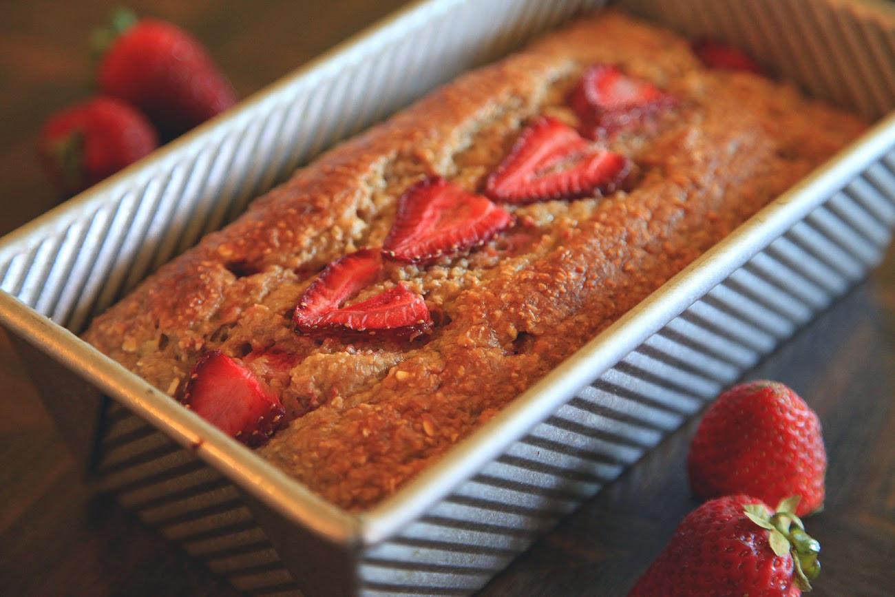 Healthy Strawberry Bread  Unify Handmade Try this Healthy Strawberry Banana Bread