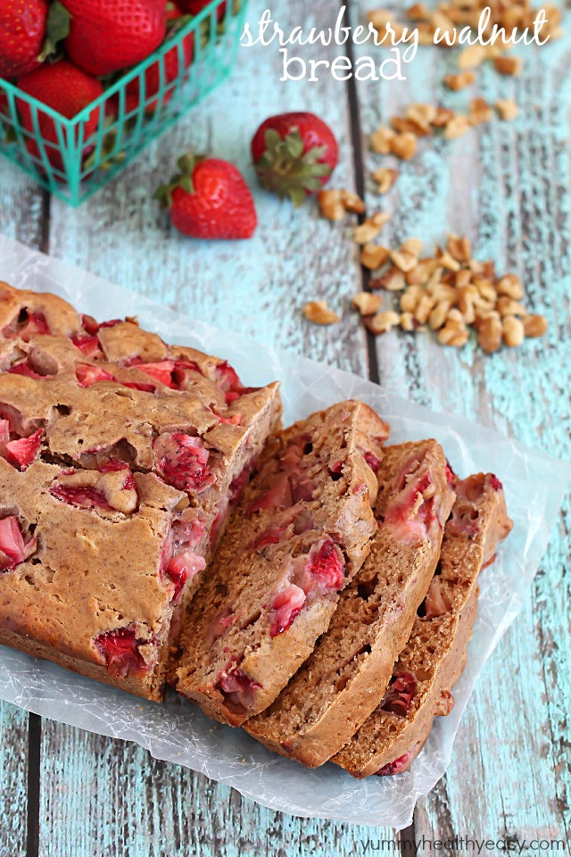 Healthy Strawberry Bread  25 Quick Bread Recipes No Yeast Required