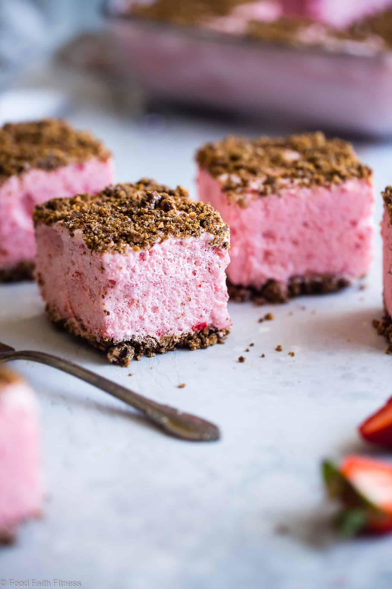 Healthy Strawberry Dessert Recipes  Healthy Frozen Strawberry Dessert Recipe