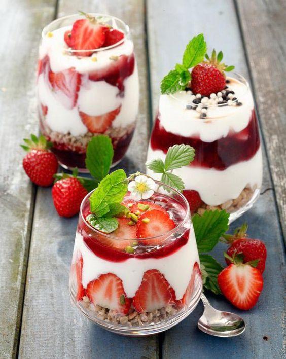 Healthy Strawberry Dessert Recipes  Healthy Desserts With Muesli MixMyOwn