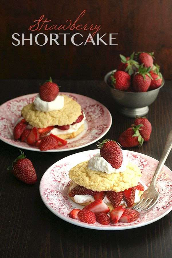 Healthy Strawberry Shortcake Recipe  10 best images about Recipes Desserts on Pinterest
