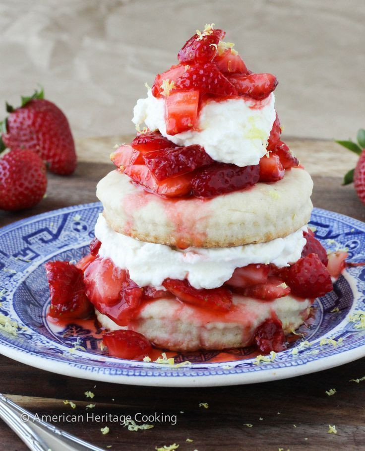 Healthy Strawberry Shortcake Recipe  Healthy Recipes American Heritage Cooking