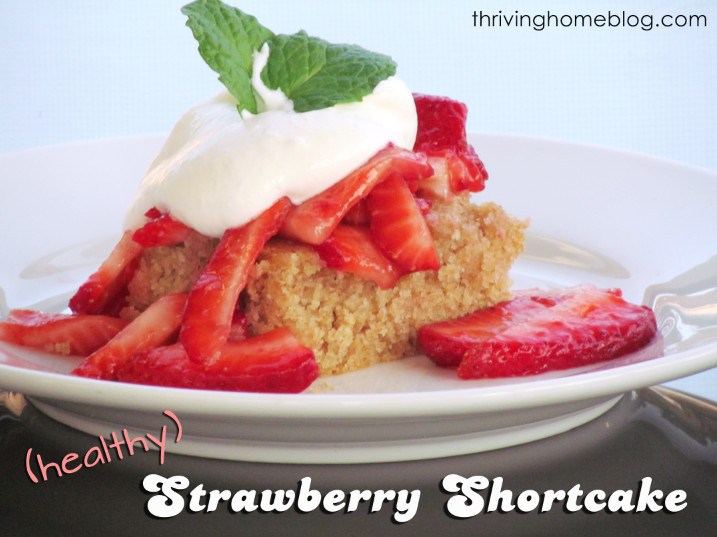Healthy Strawberry Shortcake Recipe  Healthy Take on Strawberry Shortcake Recipe
