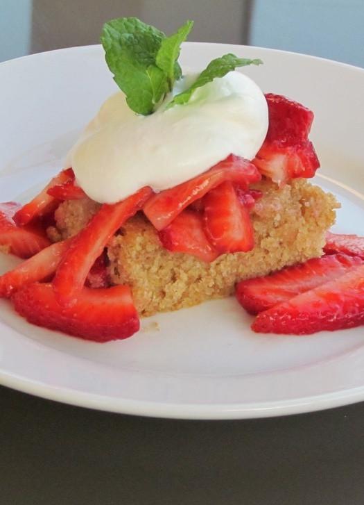 Healthy Strawberry Shortcake Recipe  Healthy Strawberry Shortcake