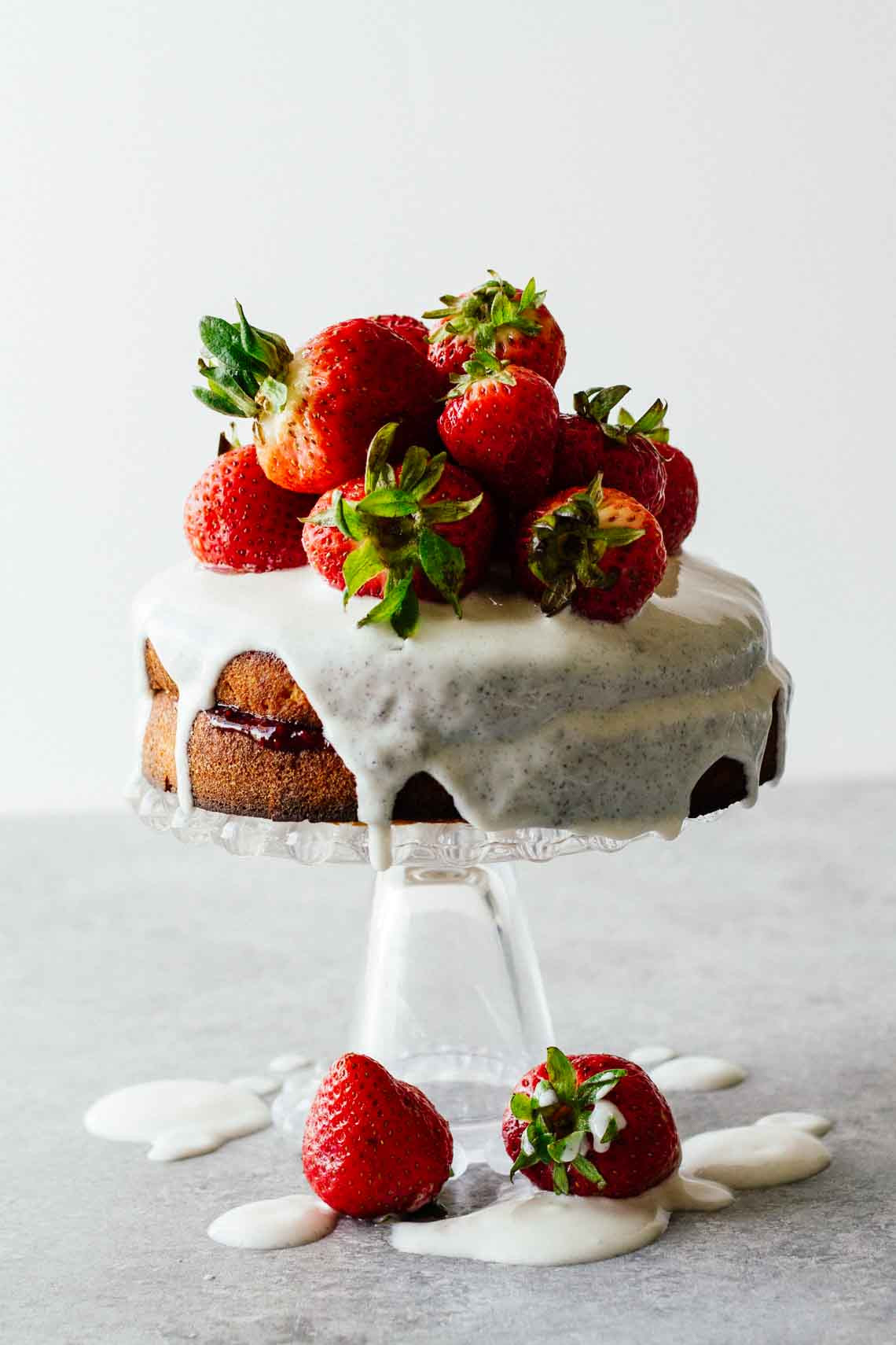 Healthy Strawberry Shortcake the Best Healthy Strawberry Shortcake W Sugar Free Glaze Jar