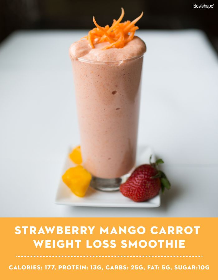 Healthy Strawberry Smoothie Recipes Weight Loss  181 best images about Smoothie Recipes on Pinterest