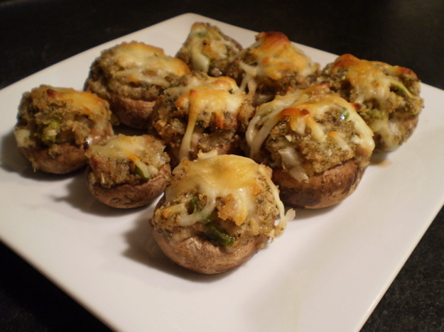 Healthy Stuffed Mushroom Recipe  Healthy & Delicious Clam Stuffed Mushrooms Recipe