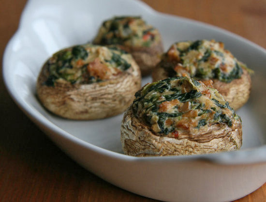 Healthy Stuffed Mushroom Recipe  Healthy Vegan Stuffed Mushroom Recipe