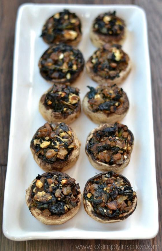 Healthy Stuffed Mushroom Recipe Easy  Healthy Stuffed Mushrooms To Simply Inspire