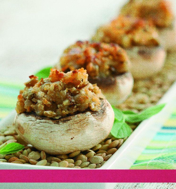 Healthy Stuffed Mushroom Recipe Easy  Easy Healthy Recipe Stuffed Mushrooms