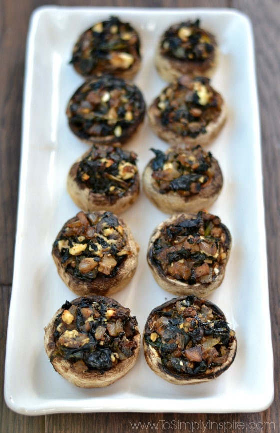 Healthy Stuffed Mushroom Recipe  Healthy Stuffed Mushrooms To Simply Inspire