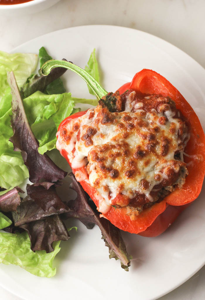 Healthy Stuffed Peppers With Ground Turkey  Clean Eating Turkey Quinoa Stuffed Peppers citronlimette