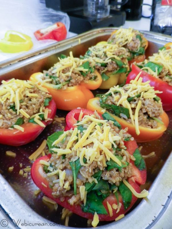 Healthy Stuffed Peppers With Ground Turkey  Heart Healthy Stuffed Peppers