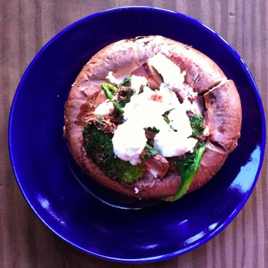 Healthy Stuffed Portobello Mushrooms  Healthy Stuffed Portobello Mushroom Recipe