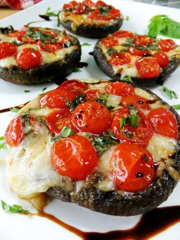 Healthy Stuffed Portobello Mushrooms  173 best recipes images on Pinterest