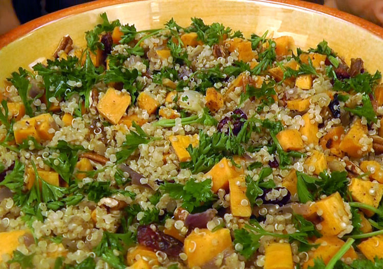 Healthy Stuffing Recipes For Thanksgiving  Thanksgiving recipe Quinoa Stuffing