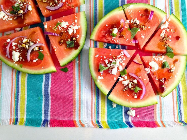 Healthy Summer Appetizers  5 Surprising Ways to Eat Watermelon