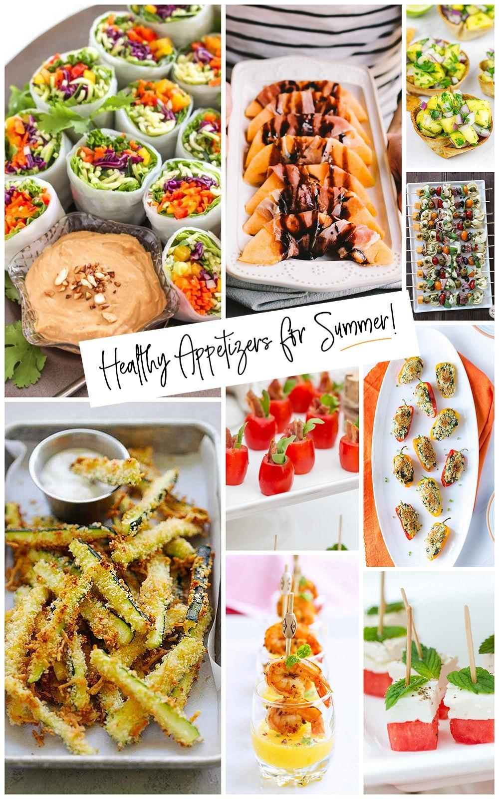 Healthy Summer Appetizers  Healthy Summer Appetizers Easy & Delish Pizzazzerie