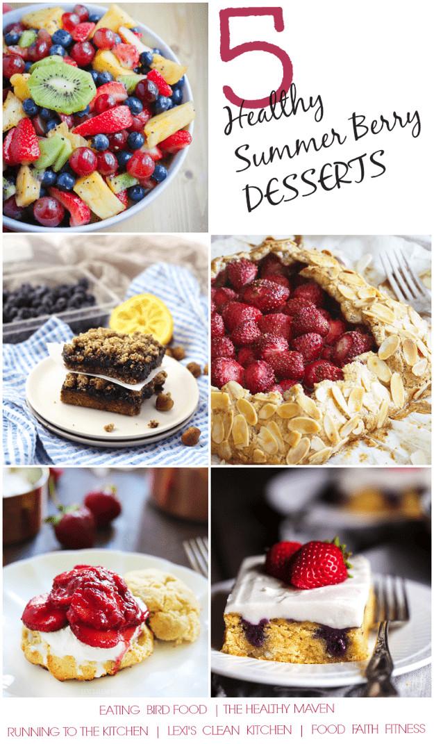 Healthy Summer Desserts  Mixed Berry Fruit Salad 5 Paleo Berry Desserts