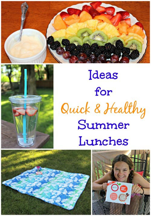 Healthy Summer Lunches  Making Lunches Easy & Healthy this Summer Edventures