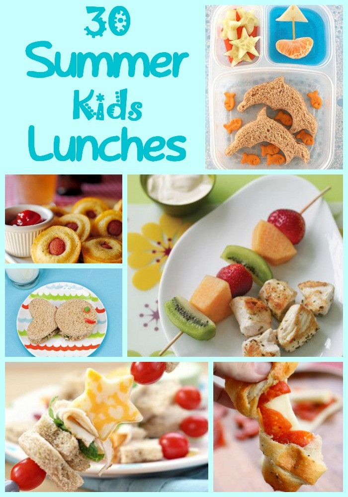 Healthy Summer Lunches  30 Summer Lunches For Kids