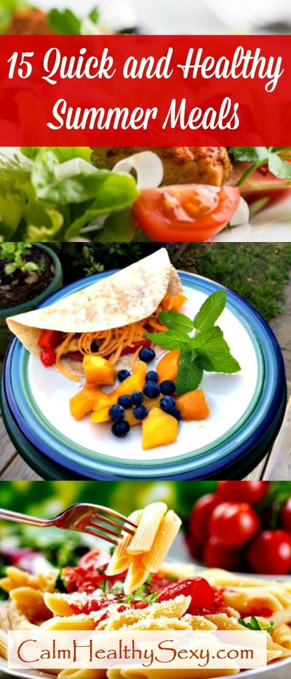Healthy Summer Lunches  15 Quick and Healthy Summer Meals for Busy Moms and Families