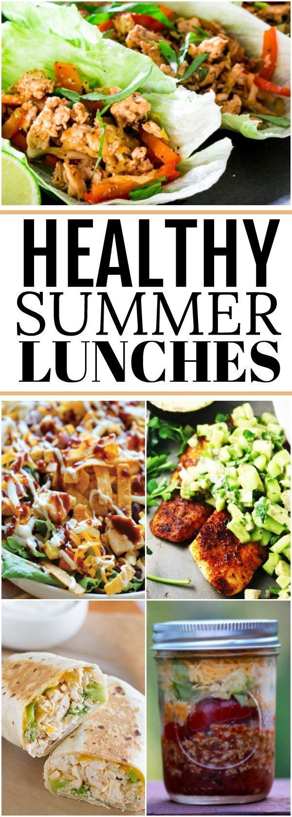Healthy Summer Lunches  Best 25 Summer lunch recipes ideas on Pinterest