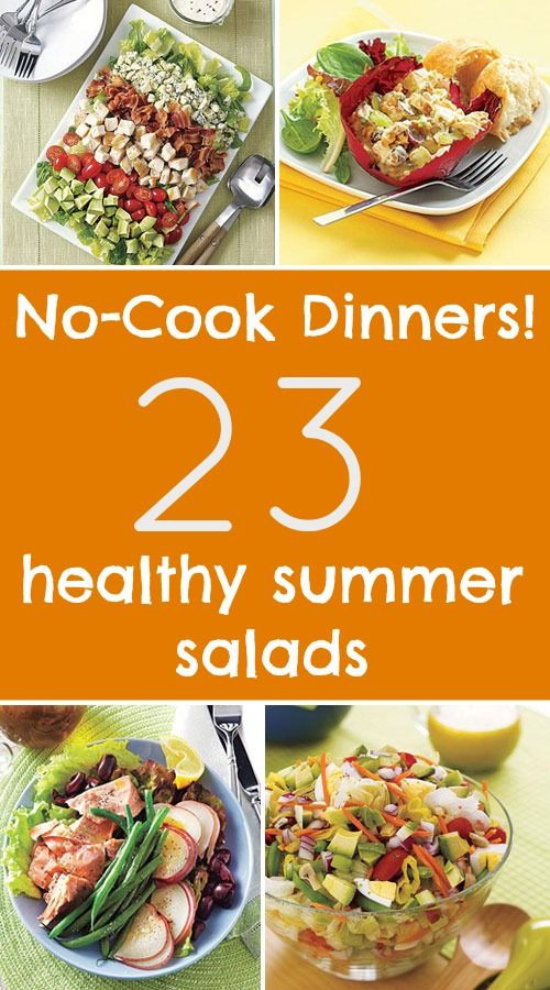 Healthy Summer Recipes For Dinner  17 Best images about No Bake Recipes on Pinterest
