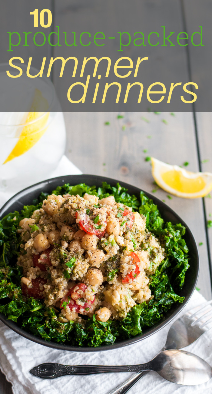 Healthy Summer Recipes For Dinner  10 Healthy Summer Dinners Natural fort Kitchen