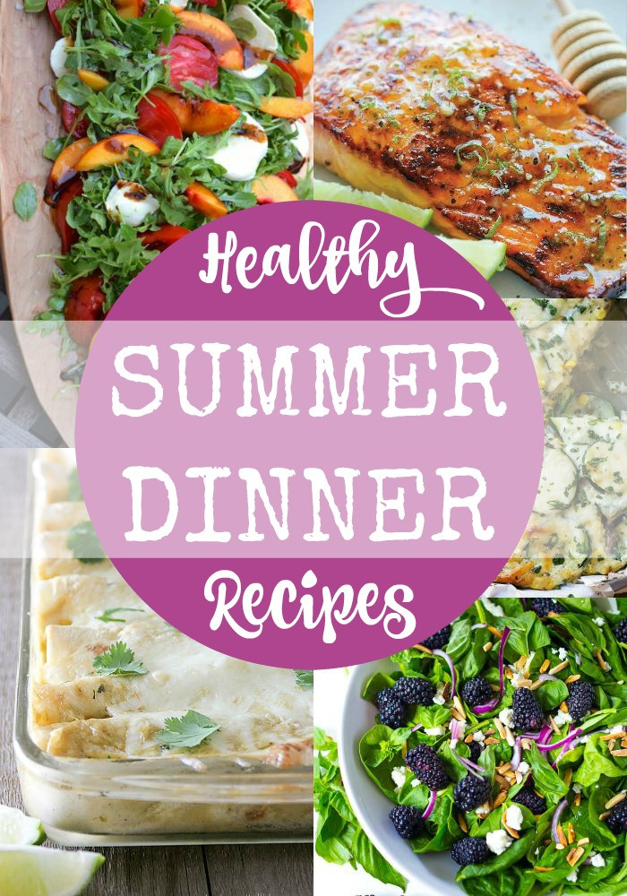 Healthy Summer Recipes For Dinner  Healthy Summer Dinner Recipes Rainbow Delicious