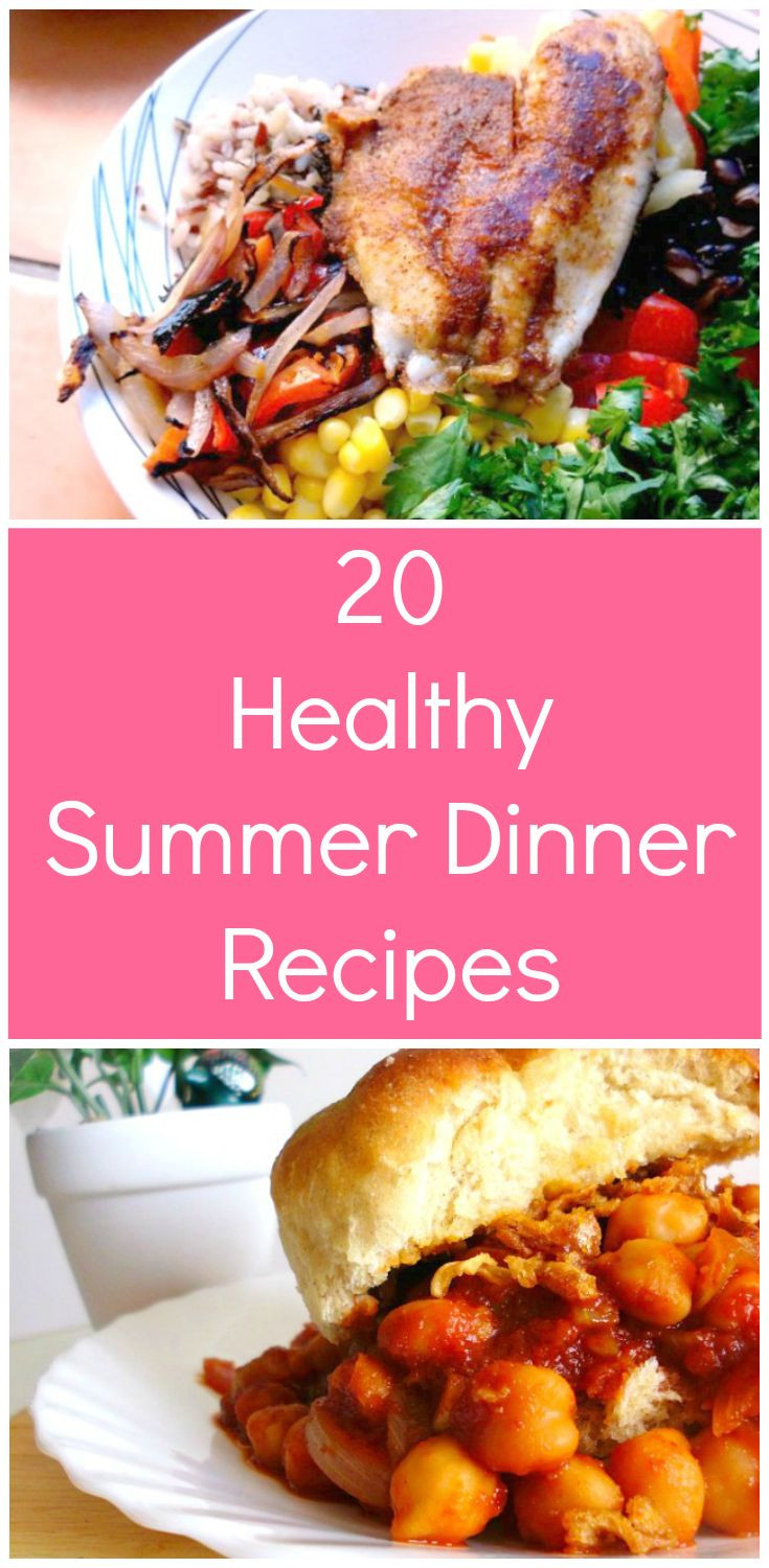Healthy Summer Recipes For Dinner  Best 25 Healthy summer dinner recipes ideas on Pinterest