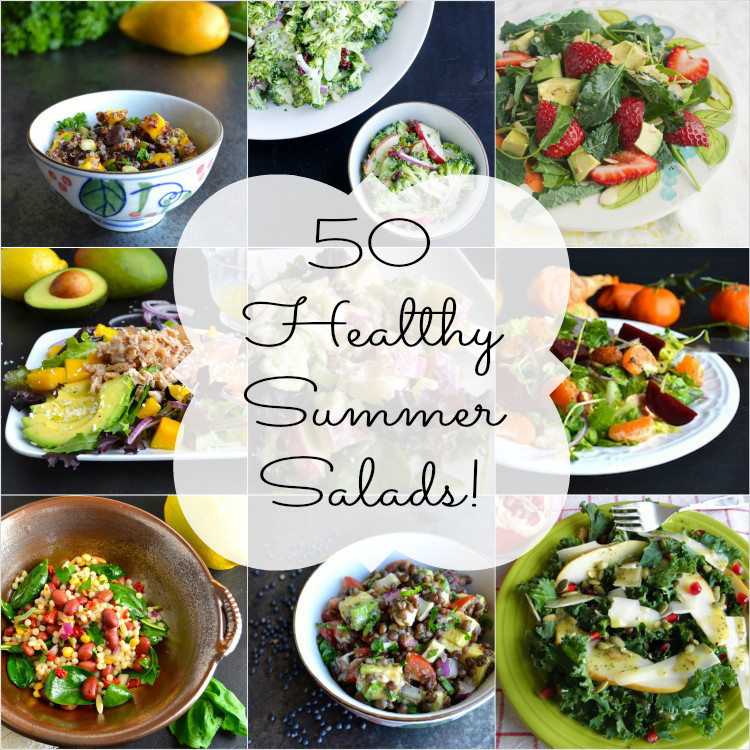 Healthy Summer Salads  50 Healthy Summer Salads and Five Tips for Creating the