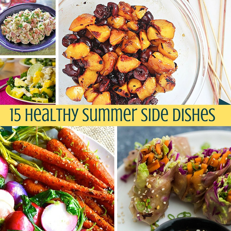 Healthy Summer Side Dishes  15 Healthy Summer Side Dishes Betty Rocker