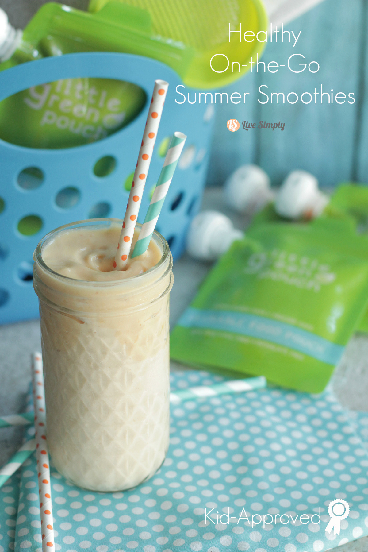 Healthy Summer Smoothies  Healthy the Go Summer Smoothies Live Simply