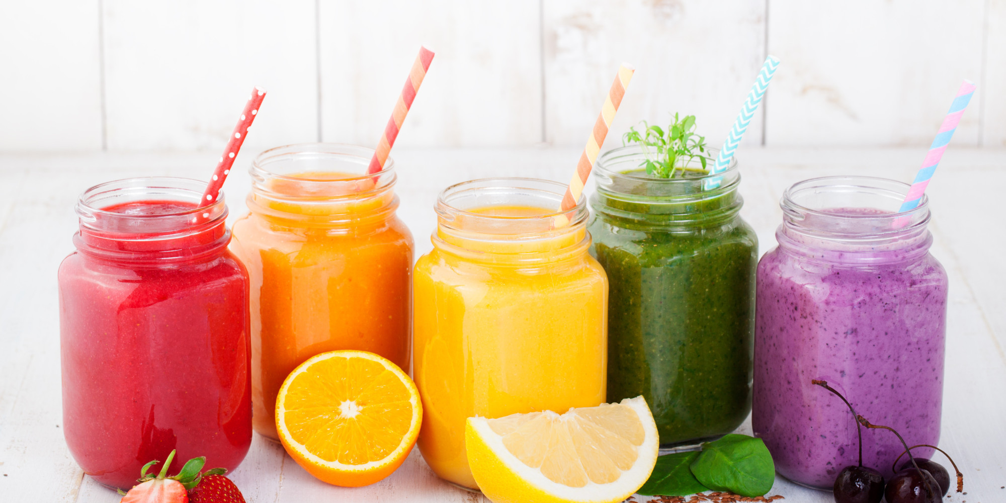 """Healthy Summer Smoothies  8 """"Healthy"""" Summer Foods And Drinks That Are Actually"""