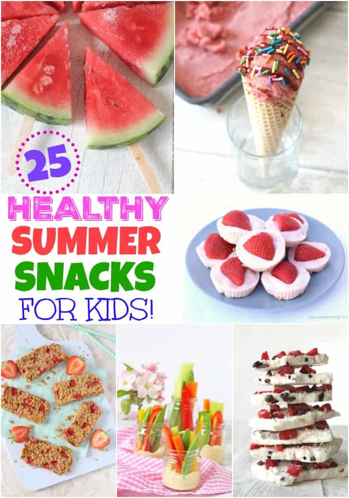 Healthy Summer Snacks  25 of The Best Healthy Summer Snack for Kids My Fussy