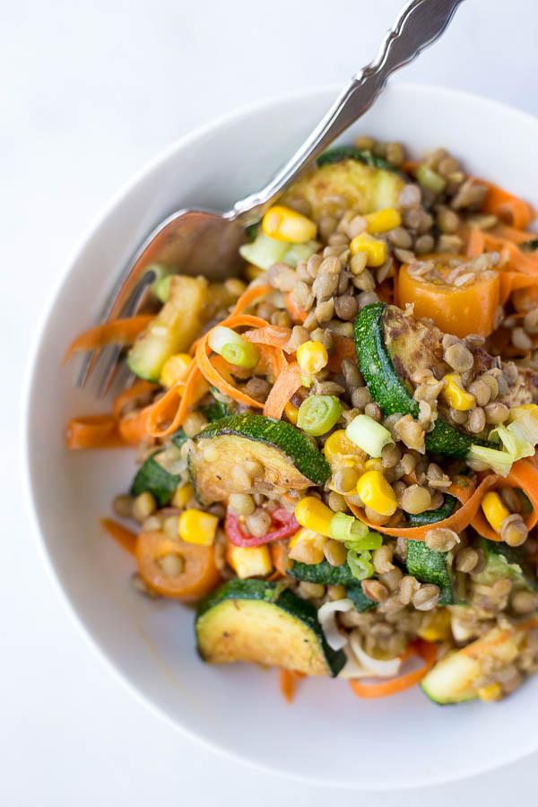 Healthy Summer Vegetarian Recipes  15 Easy Healthy Vegan Meals for Summer Fooduzzi